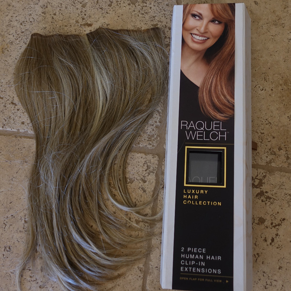 Raquel Welch Accessories Clip In Hair Extensions New In Box Poshmark